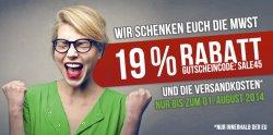 Hoodboyz 19% Mehrwertsteuer sparen dank Gutscheincode