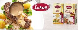 Kostenlos Lukull Soße bestellen @Unileverfoodsolutions