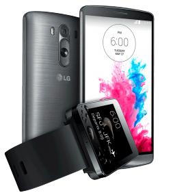 LG G3 16GB & LG G Watch schwarz (gratis dazu) für 499,- €