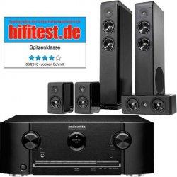 Marantz SR5008B 7.2 AV-Receiver + Audio Pro Avanto 5.0 Lautsprechersystem für 799,00 € (1036,10 € Idealo) @Cyberport