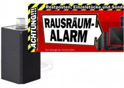 MediaMarkt Räumungsverkauf | Start heute ab 20h, z.B. PHILIPS DTM3155/12 Mini Stereoanlage für 99€ (idealo: 170€)