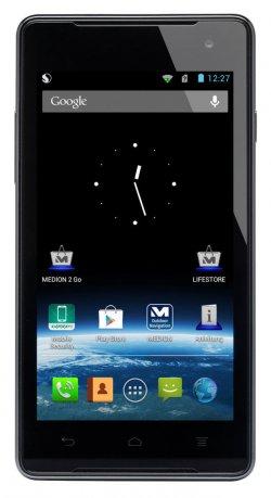 MEDION P4501 MD 98428 11,43cm (4,5 Zoll) Android 4.1 Smartphone für 91,99 € (129,99 € Idealo) @eBay