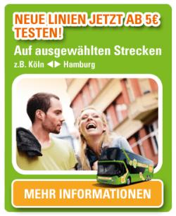 @meinfernbus.de bietet neue Linien – jetzt ab 5€ testen!