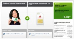 Mobilcom Debitel Vodafone Smart Surf – 50 Minuten, 50 SMS, 2GB Internet für effektiv 6,99 €