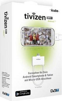 @mobiledirect.de bietet ICUBE Tivizen Pico Android DVB-T Empfänger mit micro-USB (WhiteBox) für 18,75€ (Idealo: 24,95€)
