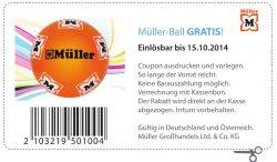 [Lokal] Gratis Ball wieder da @Müller-Filialen