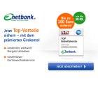 netbank Girokonto dauerhaft beitragsfrei bei Gehaltseingang mit 100€ Prämie