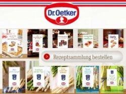 Neue Dr. Oetker Rezepthefte gratis bestellen @oetker.de