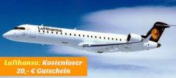Neuer und aktueller 20€ Lufthansa Gutschein