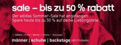 Nochmal Addidas Sommer-Sale!- und noch bessere Rabatte von 30-50% +15% Extra @addidas