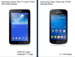 O2 Flat Samsung Galaxy Lite Smartphone + gratis Samsung Tab 3 für 8,99€ mtl. @handyliga