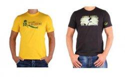 Puma Herren T-Shirts im 2er-Pack für je Shirt 6,75€ statt 14,95€ (bzw. 11,99€ (Gelbes Shirt))