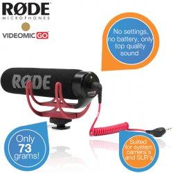 RØDE VideoMic GO Mikrofon für 49,95 €  zzgl. 5,95 € Versand (69,00 € Idealo) @iBOOD Extra