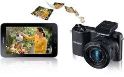 Samsung-Set bestehend aus Samsung NX2000 Kit 20-50 mm + Galaxy Tab 3 Lite 7.0 Wi-Fi 8 GB 279€ statt 312,88@amazon