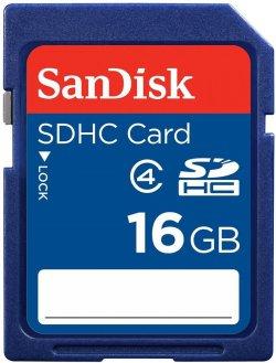 SANDISK SDHC 16GB Class 4 Speicherkarte für 7,00 € (10,00 € Idealo) @Saturn