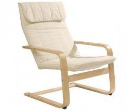 Schwingstuhl aus Birke in Creme 24,90€sattt 77€ versandkostenfrei @XXXL-Shop