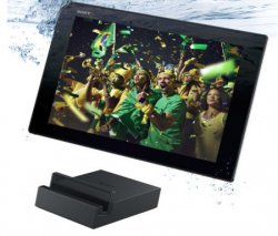 Sony Xperia Tablet Z2 FIFA Bundle mit Deutschland Trikot und Dockingstation für 469€ @notebooksbilliger