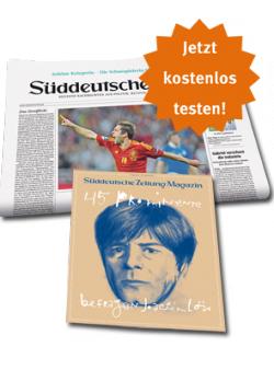 @Süddeutsche Zeitung (Printversion) zwei Wochen kostenlos testen