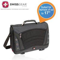 Swiss Gear von Wenger Saturn Laptop-Tasche für 39,95 € zzgl. 5,95 € Versand (49,06 € Idealo) @iBOOD Extra