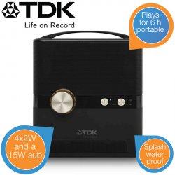 TDK A360 – 360° wireless Lautsprecher für 99,95 € zzgl. 5,95 € Versand (149,24 € Idealo) @iBOOD Extra