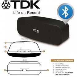 TDK T79001 Bluetooth Lautsprecher für 19,95 € zzgl. 5,95 € Versand (33,20 € Idealo) @iBOOD Extra