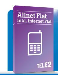 Tele2 Allnet Flat für effektiv 6,99€ mtl. durch Einmalige Auszahlung@ Handyliga
