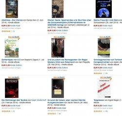 Thriller:  Die Werkzeuge des Teufels und weitere 8 ebooks heute gratis