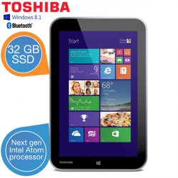 Toshiba Encore WT8-A-102 Windows 8.1 Tablet für 179,95 € zzgl. 5,95 € Versand (232,88 € Idealo) @iBOOD Extra