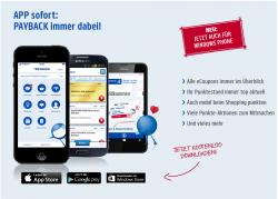 Über @Payback App einen eCoupon aktivieren und 50 Extra-Punkte geschenkt bekommen