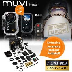 Veho MUVI HD 1080p Action-Kamera für 119,95 € zzgl. 5,95 € Versand (179,99 € Idealo) @iBOOD Extra