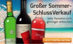 Wein Sommer-Schluss-Verkauf + 15€ Gutschein (35€ MBW) bei weinvorteil.de, so z.B. den Castillo Santa Paulina Sauvignon Blanc 2013 für nur 3,99€
