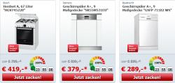 zackzack Großgeräte-Flash mit ständig wechselnden Liveshopping-Angeboten, z.B. Beko WML 51431 Waschmaschine für 249€ (idealo 278,99€)