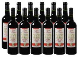 12er-Paket Baron dEmblème – Merlot – Pays dOc 2013 für 34,20 € statt 83,88 € + 6 GRATIS Flaschen im Wert von 59,94 € mit Gutschein @Weinvorteil