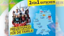 @wiesenhof-online.de: 2für1 Gutschein (50% Rabatt) für viele Freizeitparks und Attraktionen! Heidepark, Legoland, Sea Life und Co.