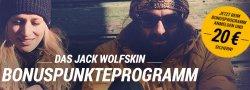20€ Gutschein für Jack Wolfskin (MBW 50€) @jack-wolfskin.de