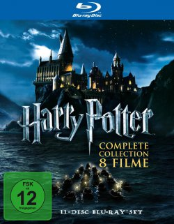 3 Tage Tiefpreise auf DVDs oder Blu-rays bei Amazon z.B. Harry Potter Complete Collection Blu-ray für 38,97 Euro (statt 46,98 Euro Idealo)