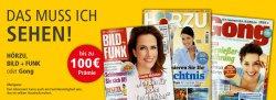 3 verschiedene TV-Zeitschriften für ein 13 Monate mit Gewinn bestellen @leseservice