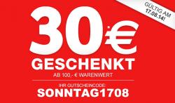 30 € Gutschein für den xxxlshop.de (100 € Mindestbestellwert), gültig am 17.08.2014