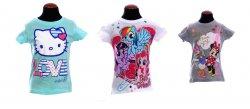 *3er-Pack* Mädchen T-Shirts von Hello Kitty, My Little Pony, Minnie Mouse für 8,70€ zzgl. 2,50€ Versandkosten @keskinshop.de