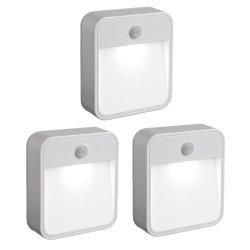 3er Set Mr Beams MB723 drahtlos LED-Nachtleuchte mit Bewegungssensor für 24,95€ @amazon.de