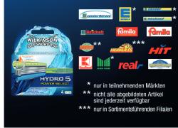 3€ Gutschein für Wilkinson Hydro 5 Power Select Klingen