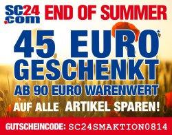 45€ Rabatt (90€ MBW) @SC24.com + 5€ bet-at-home Wettgutschein