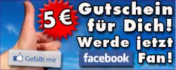 5 € Einkaufsgutscheine von Grafical.de auf facebook