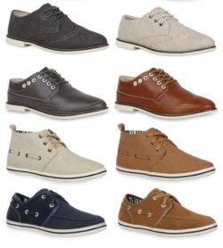 5 versch. Casual Herren Sneakers (17 Farben zur Auswahl) für nur 16,90€ inkl. Versand bei eBay