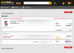 7% Gutscheincode für MeinPaket ab 1€ Mindestbestellwert