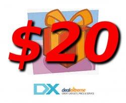 $8, 2x $20 und $35 Gift Cards für dx.com (MBW: $50, $100 und $150)