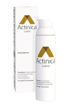 Actinica Lotion Sonnenschutzmittel gratis testen – auf Herstellerseite