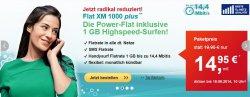 All-Net-Flat mit 1 GB Highspeed Surfen für mtl. 14,95€ (O2-Netz)
