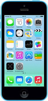 @BASE bietet Apple iPhone 5C blau 8GB für 349€ (idealo: 373,95€)