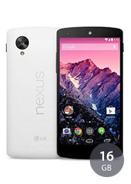 BASE Internet Flat 500 MB + LG Nexus 5 16GB für 11€ mtl. @ Sparhandy